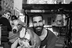 Street portraits (michael.mu) Tags: telaviv portrait dog israel streetphotography leica m240 50mm leicaaposummicronm50mmf2 bw blackandwhite monochrome
