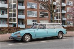 Citroën DS Break (Chris 1971) Tags: citroën ds break snoek denhaag thehague wederopbouw