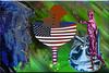 El embudo (seguicollar) Tags: imagencreativa photomanipulación art arte artecreativo artedigital virginiaseguí embudo bandera eeuu trump política china aranceles comercio