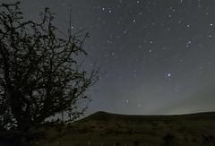 Into the hills (Edward Bentley) Tags: nightsky wales breconbeacons april nikon d7100 stars starrylandscapestacker astrometrydotnet:id=nova2505513 astrometrydotnet:status=solved