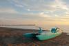 Spiaggia di Forte dei Marmi (Darea62) Tags: seascape beach bridge boat clouds fortedeimarmi versilia tuscany toscana pattino rescue sand skyscape pier jetty travel