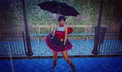 Jemma Rebel in the Rain (Jemma {Photographer/Model}) Tags: snapshots camera inworldpics pictures lighting lights wyldonezphotography wyldonez argracehair meshbody reindustries realevilindustries filters photofilters poses gemmapiper sl secondlife second life avatar avatars virtualworld fashion makeup clothes cosmetics lumipro photos pics photography photographs catwa catya bento mesh maitreya 7deadlyskins daddysgirl little bdsm ddlg rain weather wellies rainboots ladybug entangledposes wholewheatprops props