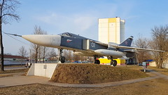 Sukhoi Su.24M c/n 0815356 Soviet Union Air Force code 01 white (sirgunho) Tags: sukhoi su24 fencer su24m cn 0815356 soviet union air force code 01 white belarus