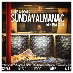 diary #2084: Sunday Almanac, May the 6th