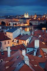夜景,布拉格 (BestCityscape) Tags: 布拉格 捷克共和国 建筑 旅行 prague czech republic architecture europe travel square castle 教堂 cathedral