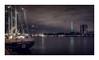 Eendracht III (Passie13(Ines van Megen-Thijssen)) Tags: rotterdam eendracht port haven hafen schip schiff zeilschip segelschiff euromast netherlands night nightscape city cityscape canon sigma35mmart inesvanmegen inesvanmegenthijssen