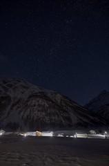 Bessans - France CH3A9896 (Ludo_M) Tags: maurienne bessans france night stars winter snow longexposure wideangle canon starrynight vanoise village neige ff dslr 5d