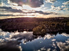 Uniacke Lake (Sean Tbear) Tags: mavic air dji drone quadcopter aerial lake water lakes nova scotia canada east coast atlantic maritimes nature exploration explore outdoors forest forests landscape landscapes sunset sun set clouds hdr hight dynamic range reflection reflections ripple ripples parks park uav sean thibert