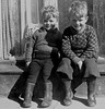 Still for a second (theirhistory) Tags: children kids boys step jumper trousers wellies rubberboots