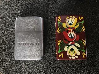 Zippo & Star lighters