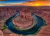 Horseshoe Bend Colorful Sunset (jodell628) Tags: horseshoebend antelopecanyon page arizona sunset
