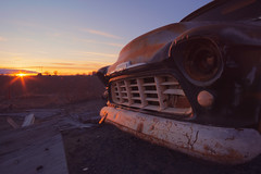 The End is Drawing Near (PNW-Photography) Tags: chevy chevrolet pasco tricities richland kennewick washington sonya6000 sony a6000 rusty auto automobile dusty abandoned found lost derelict