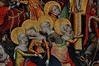 Hildesheim, Niedersachsen, Lambertikirche, altar, detail (groenling) Tags: hildesheim niedersachsen deutschland germany hi de lambertikirche stlamberti altar paint painting gemälde passion jesus crucifixion kreuzigung cross kreuz saint heilige mary maria magdalene magdalena