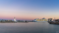 Symphony of the Seas in Málaga (-COULD 2.0) Tags: sea ship barco crucero symphony málaga atardecer sony sonyfe28mmf2