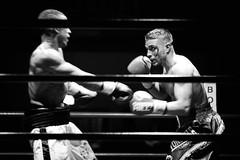 23700 - Face off (Diego Rosato) Tags: boxelatina boxe palaboxe boxing night injury ferita sange blood bianconero blackwhite nikon d700 70200mm sigma rawtherapee ring