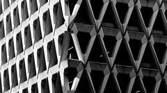 Shades of grey (Joseph Pearson Images) Tags: building architecture brutalism brutalist concrete welbeckstreet london michaelblampiedandpartners blackandwhite mono bw geometric