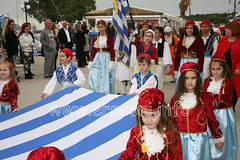 Greece - Ermioni Independence Day - 25th March (ermioni.info) Tags: ermioni hermione ermionida argolida peloponnese greece travel tourist holiday vacation festival historical cultural traditional town village unspoilt greek photographic flag parade