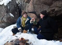 piipputupakkaa luolalla (GARS Savolax) Tags: nuuksio histelvaellus historianelävöitys historianelävöittäminen gars 1600luku