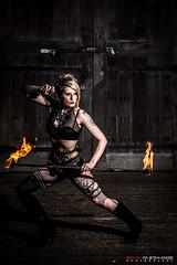 Lady-Viper : Kirby Castle (Digital-Mechanic.com) Tags: lady viper kirby castle fire staff breathing pyrotechnics pyro