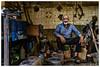 The Tinsmith, Yazd, Iran (isitaboutabicycle) Tags: tinsmith iran persia yazd iranian metalwork workshop portrait oldman