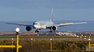 Qatar Airways Boeing 777 A7-BAU