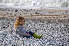 Yport, à la plage (d_smets) Tags: normandi yport 2018 normandië april