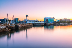 The Mayflower Steps and the NMA (Rich Walker Photography) Tags: plymouth plymouthbarbican plymouthwaterfront devon longexposure longexposures longexposurephotography historic history england greatbritain landscape landscapes landscapephotography seascape sunrise dawn canon eos80d eos efs1585mmisusm