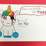 """Licorne sadique dessin de manga <a style=""""margin-left:10px; font-size:0.8em;"""" href=""""http://www.flickr.com/photos/122771498@N03/40581710944/"""" target=""""_blank"""">@flickr</a>"""