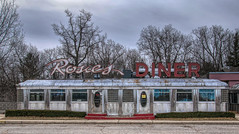 Rosies Diner.... (Kevin Povenz Thanks for all the views and comments) Tags: 2018 march kevinpovenz michigan diner restaurant food vacant building cold morning canon7dmarkii sigma24105art topaz