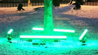 Saint Andrew Square, winter night 03