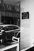 (Devin Walker) Tags: nikon d200 fife crail tamron 02b monochrome bw reflection diner window