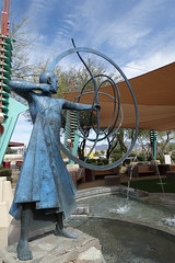 . (Kate Hedin) Tags: frank lloyd wright flw scottsdale spire az arizona city hall monument statue sculpture aiming for mark heloise crista taliesin west phoenix