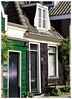 The Smallest House (Hans Veuger) Tags: nederland thenetherlands amsterdam amsterdamnoord buiksloterdijk bench hbm nikon b700 coolpix nederlandvandaag twop