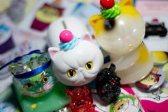 Refreshment Toy. (Nicholas Fung) Tags: cat cattank ソフビ kaiju softvinyl vinyl vinyltoys vinyltoy vinylart sofubi sofvi sofuvi madeinjapan refreshmenttoy designertoy cupcake calico exoticshorthair myplasticheart toy toys japan japanesetoys japanesevinyl