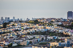 flip side housing (pbo31) Tags: bayarea california nikon d810 color april 2018 spring boury pbo31 over view bayview city sanfrancisco urban bernalheights houses rooftops skyline