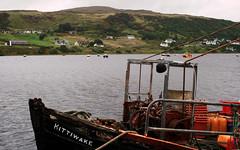 Kittiwake, an Ùig (Rhisiart Hincks) Tags: alba yr alban broskos ecosse eskozia schottland schotland أسكتلندا 苏格兰 šotimaa skócia škotija eurita skotija szkocja skotsko skotlanti scotland seagair kittiwake anùig uig bád bàta bag boat cwch txalupa kok aod glanymôr cósta kostalde coast côte arfordir isleofskye anteileansgitheanach