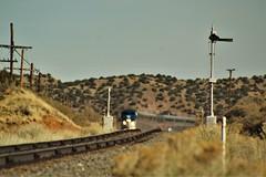 Amtrak 17 - Los Cerillos, NM (matthewspika) Tags: amtrak bnsf glorieta pass train new mexico