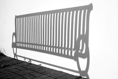 Cobourg (chris e robert) Tags: cobourg shadow bench sony sonyphoto sonya7iii blackandwhitephotography blackandwhite blackandwhitephotos