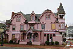 The Towers, Milford, DE (Robby Virus) Tags: milford delaware de towers bed breakfast victorian architecture historic national register places nrhp building pink