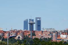 Madrid skyline (Miguel Angel Prieto Ciudad) Tags: park city cityscape skyline skyscraper architecture urban landscape madrid popular tags sonyalpha mirrorless sony ngc