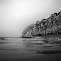 La brume du Nord (Geoffroy Hauwen) Tags: canon landscape sea seascape sky sable nuageux brouillard mer seaside