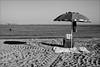 Cattolica (RN) (malko59) Tags: mare sea marenostrum cattolica beach spiaggia ombrellone ombra biancoenero blackandwhite fujifilmxseries fujifilmxt1 fujifilm