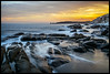 Seccheto, Isola d'Elba, Toscana, Italia (fabrizio.silvani.ph) Tags: tramonto sunset mare sea acqua water roccia rock baia isoladelba elba tamron247028 tamron fabriziosilvaniph nuvole clouds toscana italia