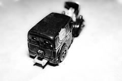 Truck (hoffler_pictorials) Tags: bokeh hotwheels stilllife futuresubjects remember oldlens e30mmf35macro truck toys macro emountlenses sonyilce6300 blackandwhite