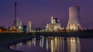 Kraftwerk Walsum ||  Powerplant (coal) in Walsum, near Duisburg, Germany.