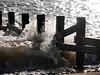 The Old Breakwater (Karls Kamera) Tags: breakwater stbees beach waves crash water splash