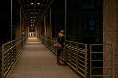 Strangers in the night (picsessionphotoarts) Tags: niftyfifty urban urbanlife nikond750 nikonfotografie nikonphotography hamburg hamburgmeineperle hamburgerecken thisishh nachtaufnahme 50mm festbrennweite cityofhamburg explore nikon woman speicherstadt streetphotography kibbelstieg