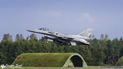 Polish Air Force F-16C Fighting Falcon (Caspar Smit) Tags: polaf f16 falcon viper fightingfalcon 4062 wittmund etnt brilliantarrow aircraft fighter jet aviation airforce airplane nikon d7000