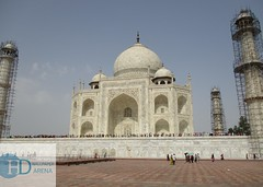 Taj Mahal (hdwallpaperarena.com) Tags: taj wonder agra india architect