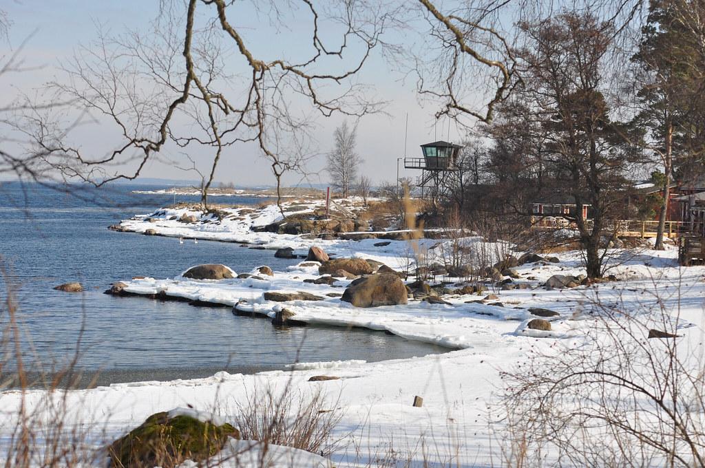 Ferry Isosaari Island Helsinki